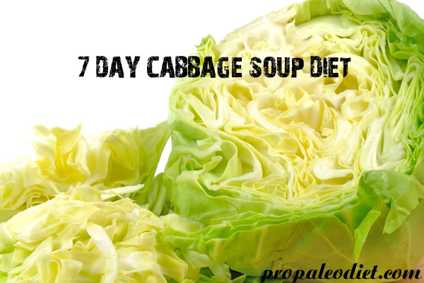 Day Cabbage Soup Diet -Ideal for Weight Loss - Pro paleo Diet