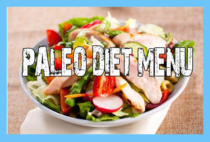 Paleo Diet Menu