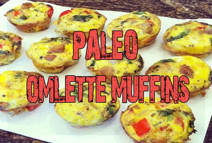 Paleo Omlette muffins